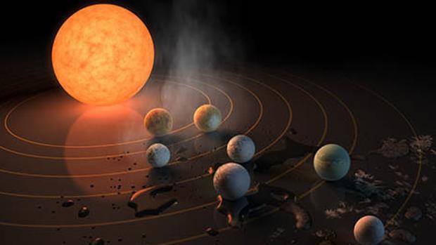 El nuevo sistema solar ya había sido estudiado