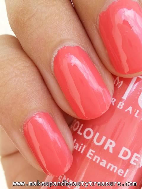 lotus nail paint pink