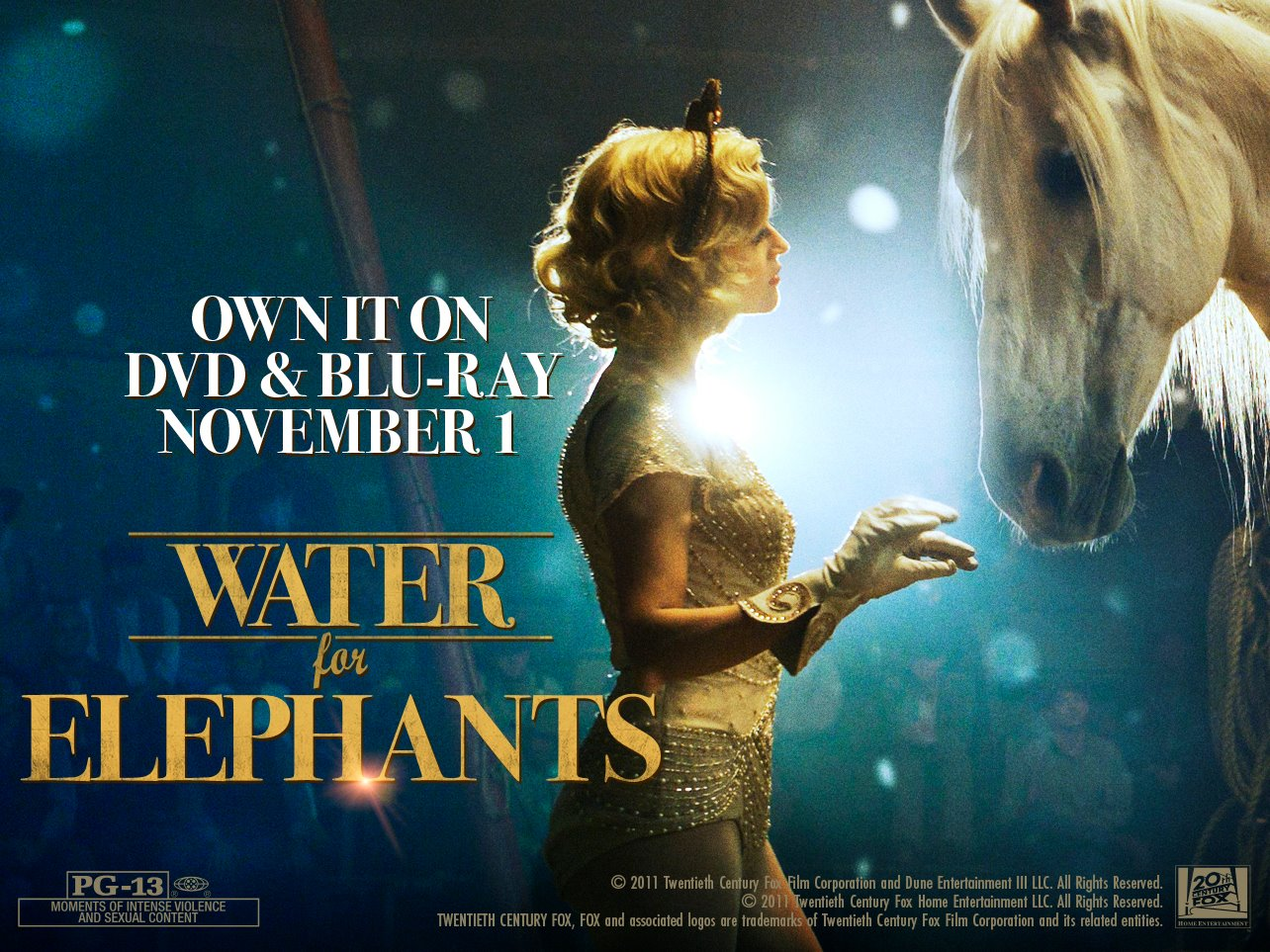 Water for Elephants Movie Poster 3 of 5  IMP Awards