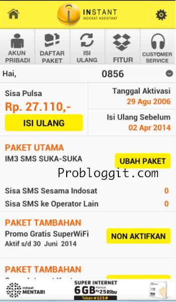Aplikasi Cek Pulsa dan Kuota di Android Lengkap Semua Operator
