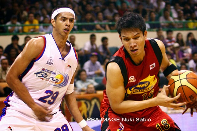 Arwind Santos and James Yap