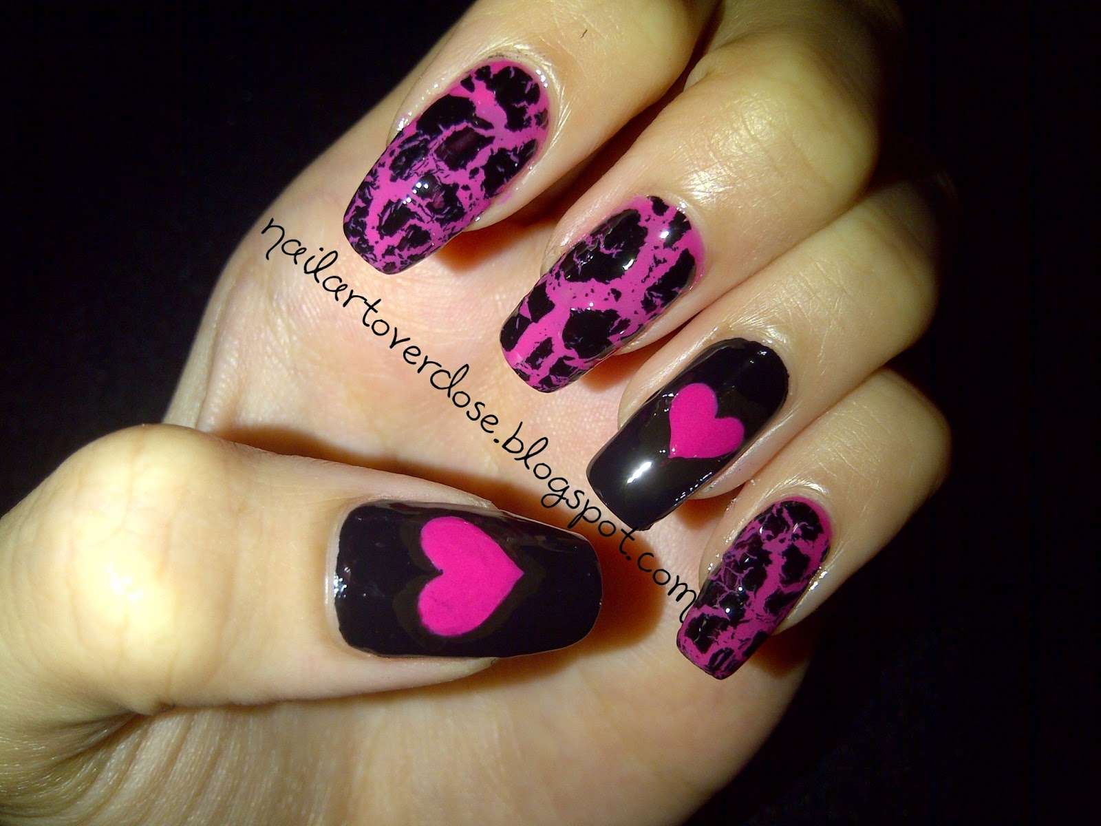 The Fascinating Black nail designs Images