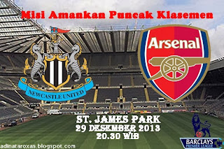 Preview: Newcastle vs Arsenal, Misi Amankan Puncak Klasemen