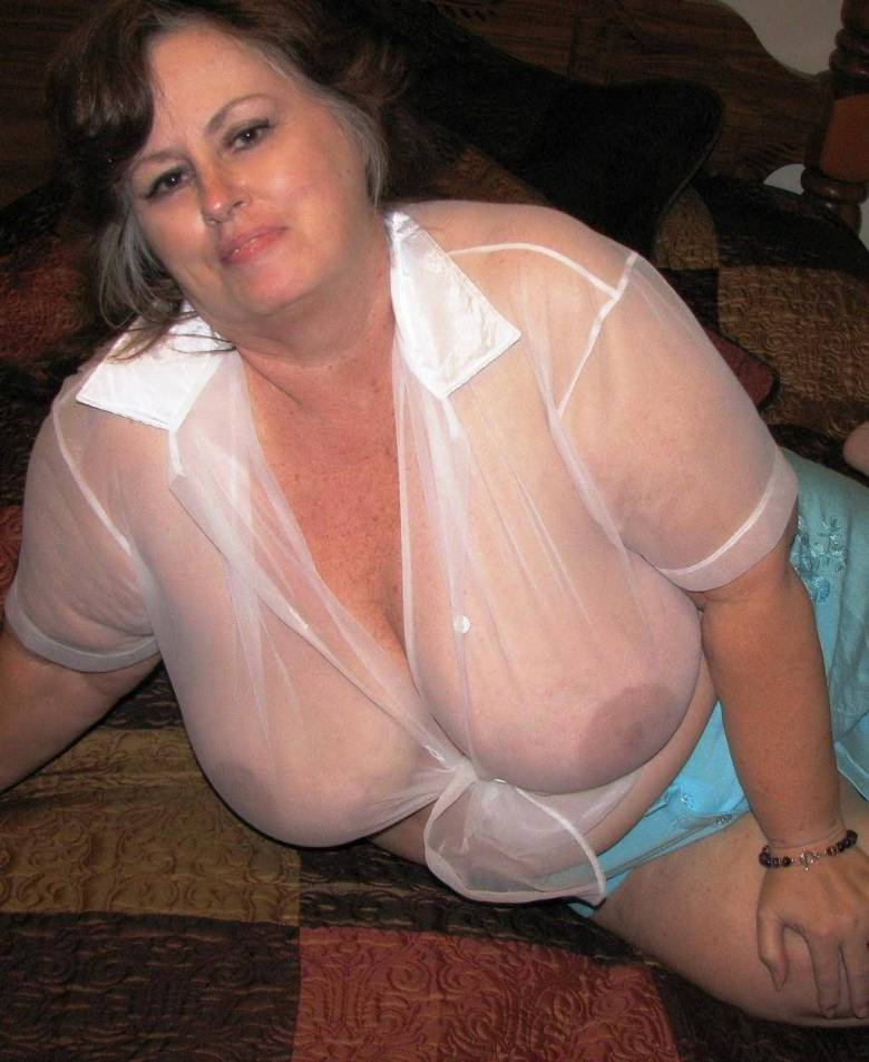 Bbw mature stocking pussy with