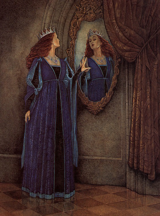 Mirror mirror on the wall p j lynch for Miroir on the wall