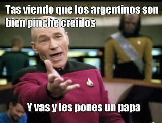 Meme Papa Argentino