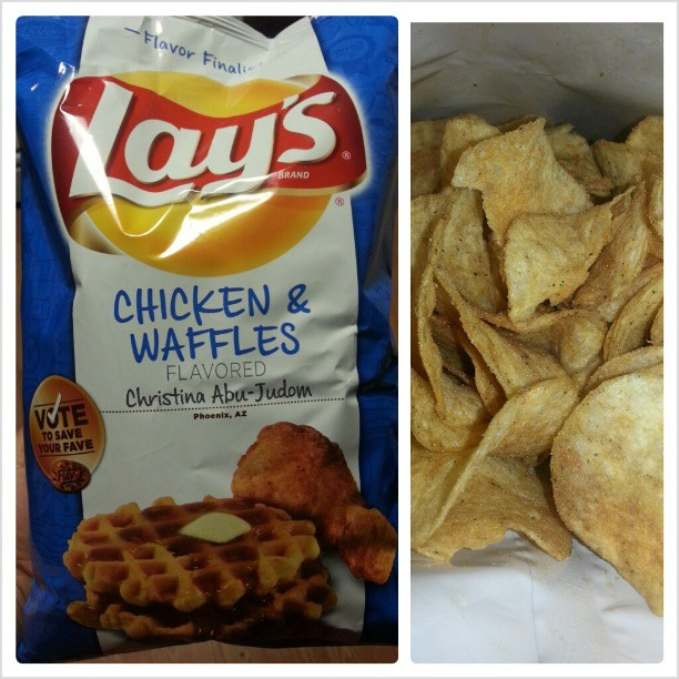 ... the Load: Lay's Limited Edition – Chicken & Waffles Potato Chips
