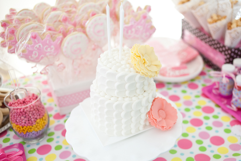 Taras Cupcakes My Daughters Sweet Shabby Chic 2 Tier Birthday Cake