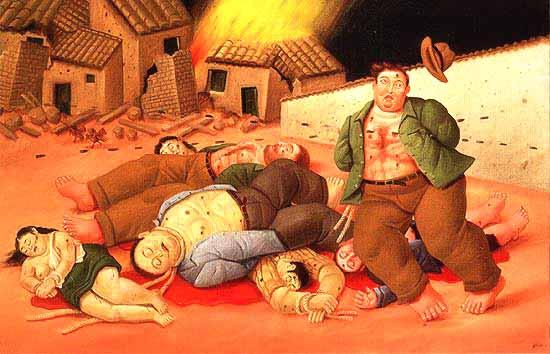 Humanismo lenguaje y creaci n an lisis de la pintura for El jardin de botero