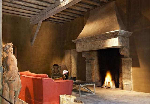 rustik chateaux grandes chimeneas se oriales de piedra