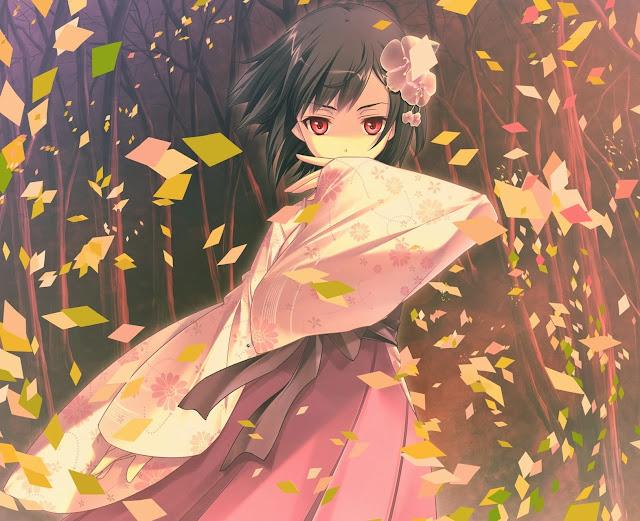Game CG,anime girl,anime kimono