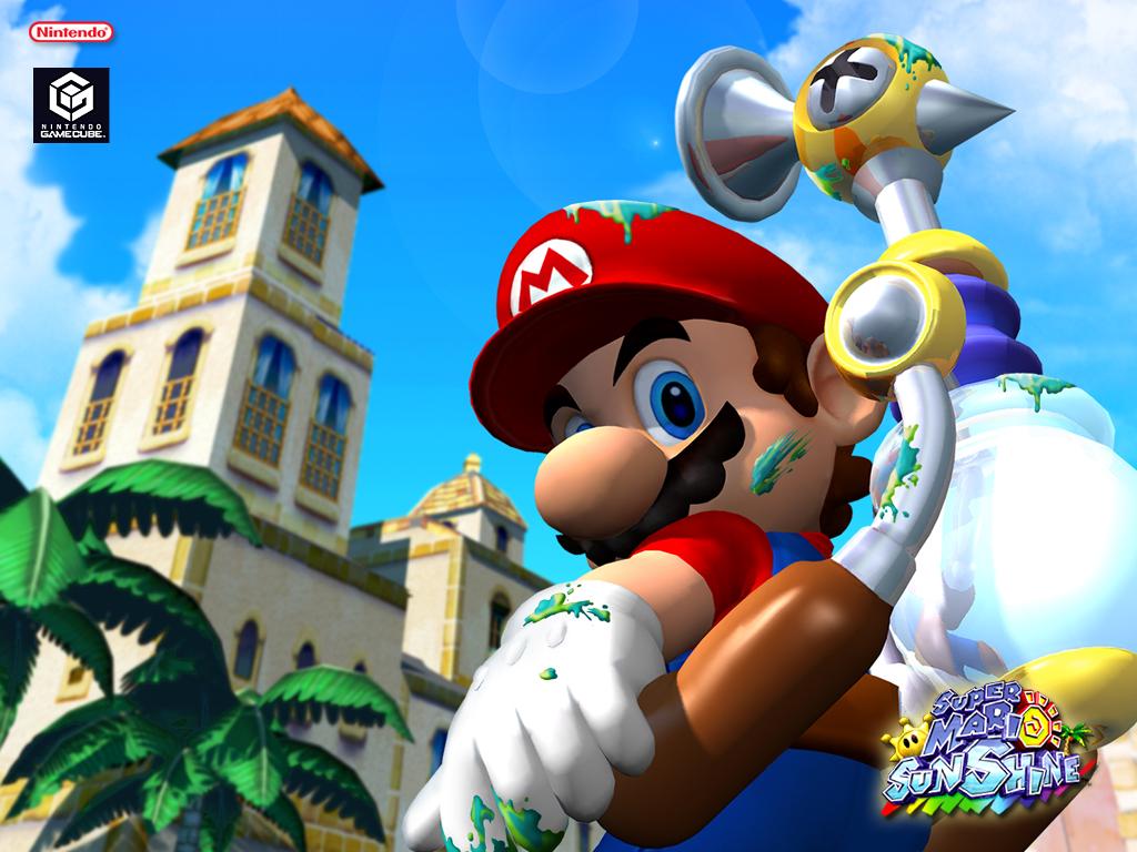 Super Mario Sunshine para Gamecube