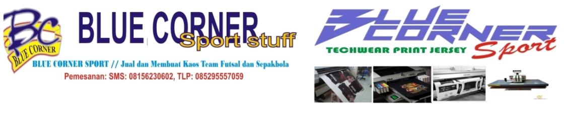 BLUE CORNER SPORT // Jual dan membuat kaos team Futsal dan Sepakbola