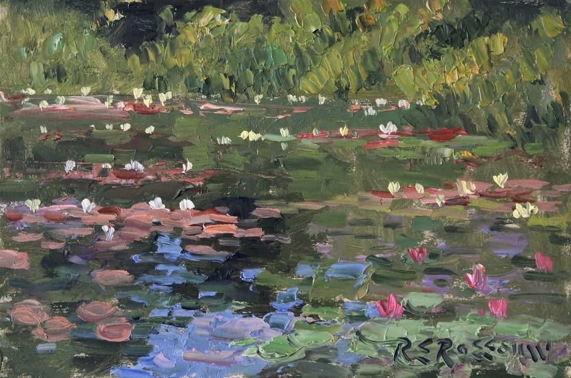 Roelof Rossouw Lily Pond Giverny