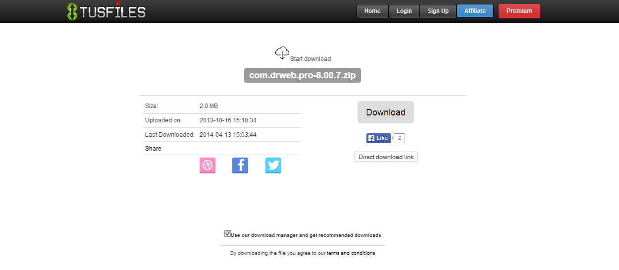 Cara Download Di Tusfiles Terbaru 2014