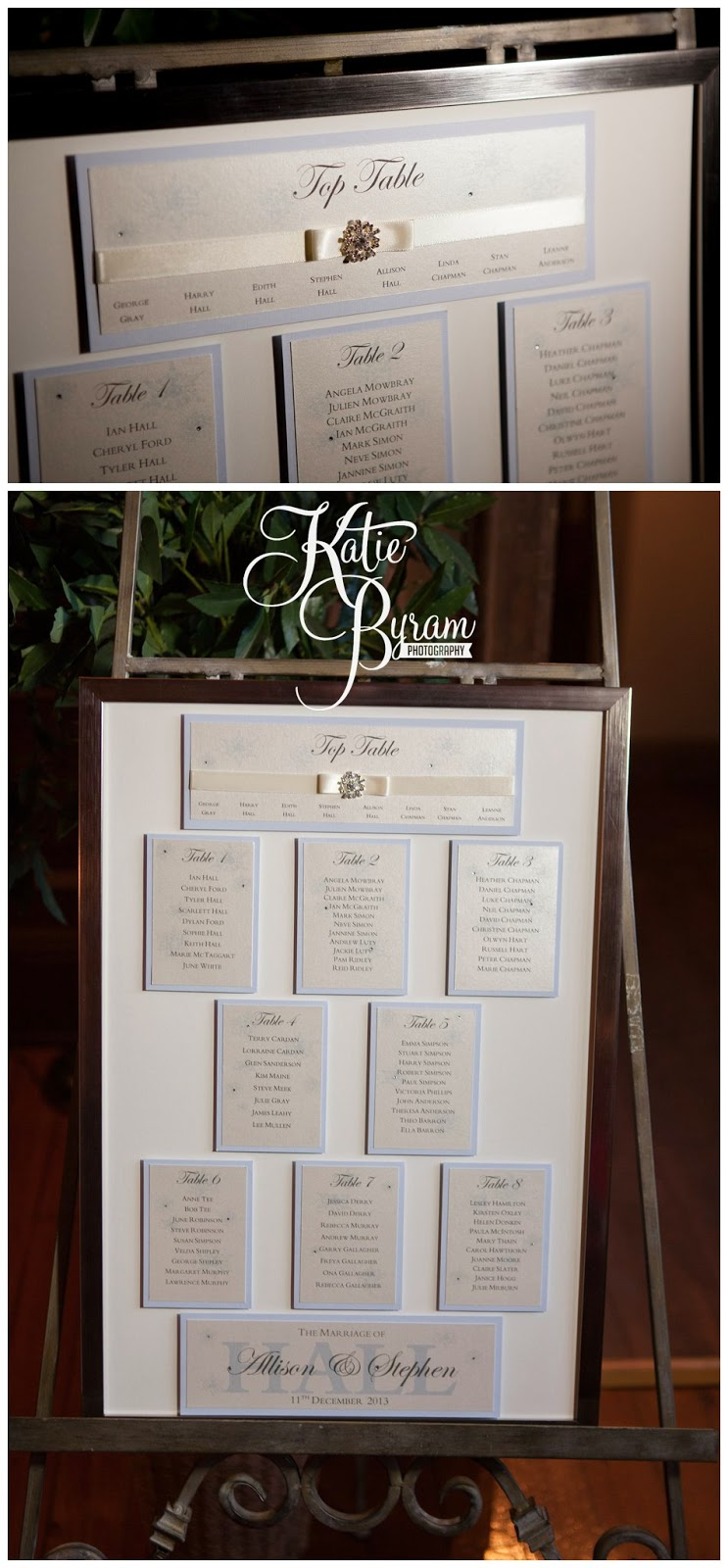 wedding table plan,ellingham hall wedding, alnwick wedding, katie byram photography, ellingham hall, mia sposa bridal, wedding venues north east, newcastle wedding photographer, ellingham, alnwick treehouse wedding, adam prest flowers, winter wedding, winter wedding theme, by wendy stationery, quirky wedding photography, northumberland wedding, northumberland, dani.mua, dani make up artist, lisa cameron hair