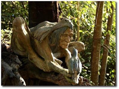 Las esculturas mágicas de Bruno Torfs - Marysville Australia - Jardín de esculturas2