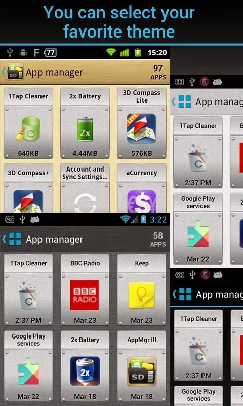 AppMgr Pro III (App 2 SD) v3.32 Patched