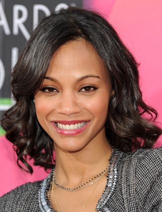 Tomy B Blog Valentines Day Hair Like Zoe Saldana