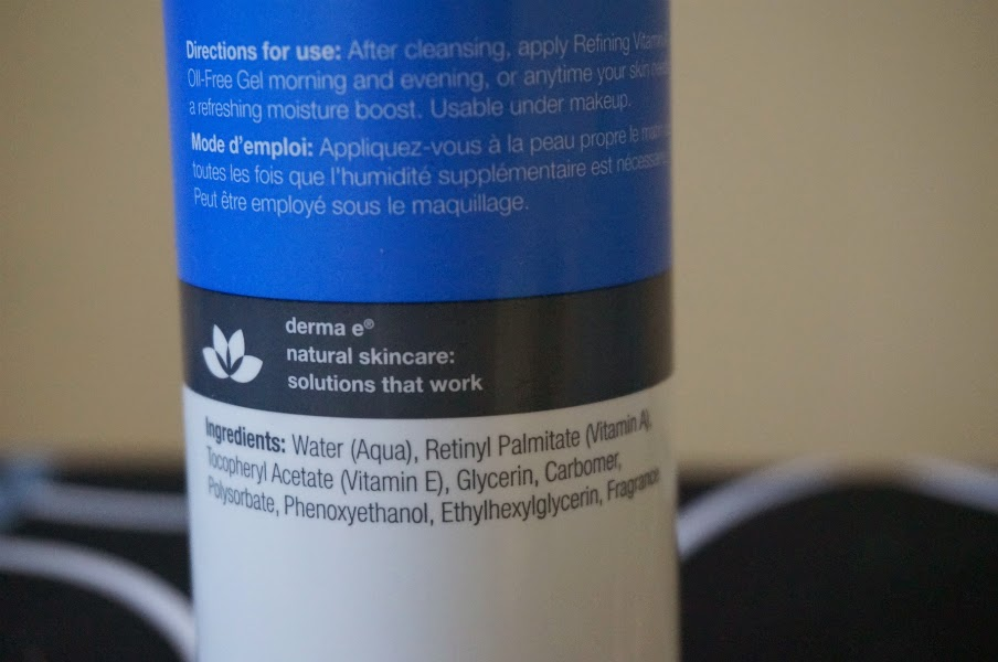 Derma-E Refining Vitamin A Oil- Free Gel