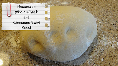 whole wheat bread dough