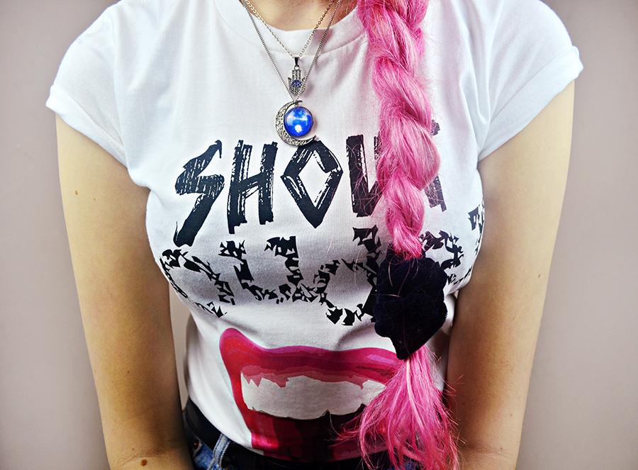 Rules of curly hair, pink hair, tangle teezer, tigi curly fox, umberto giannini, stephi lareine