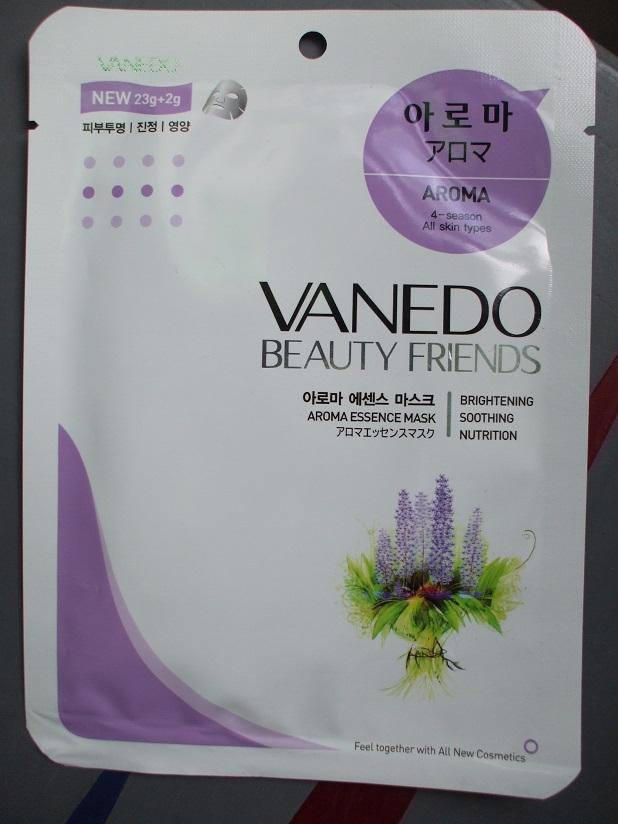 Vanedo Beauty Friends Sheet Mask aroma