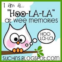 Hoo-la-la at Wee Memories