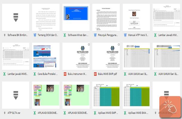 Software Aplikasi BK Gratis dengan Microsoft Excel