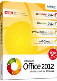 SoftMaker Office Professional 2012 Retail 654