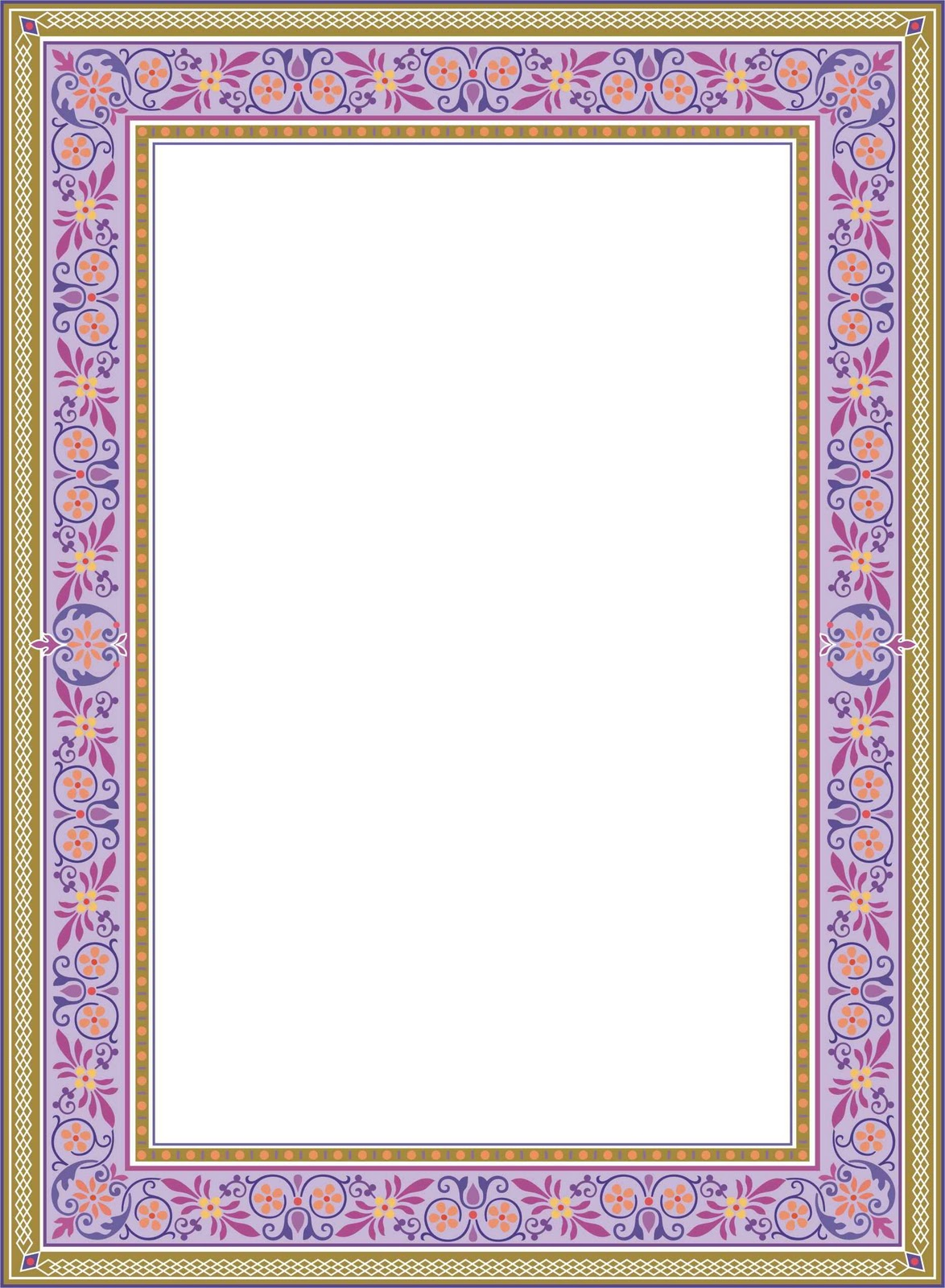 Wedding Borders and Frames Clip Art