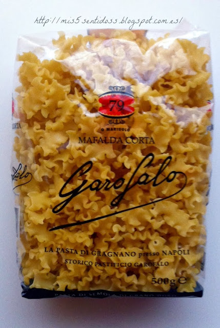 Degustabox Pastas Garofalo Mafalda Corta