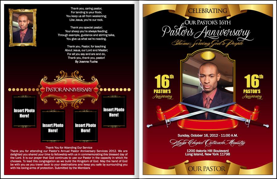 Pastor Anniversary: Pastor Anniversary Celebration