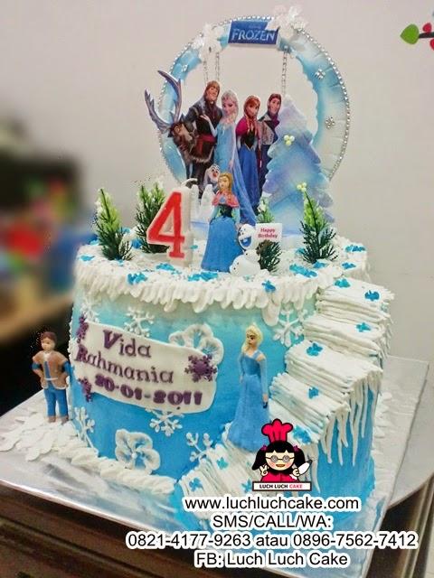 Jual Kue Tart Frozen - Frozen Birthday Cake Daerah Surabaya - Sidoarjo ...