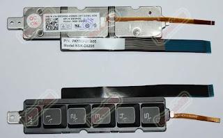 Dell Alienware M18X Left Keys Keyboard NSK-D8Z01
