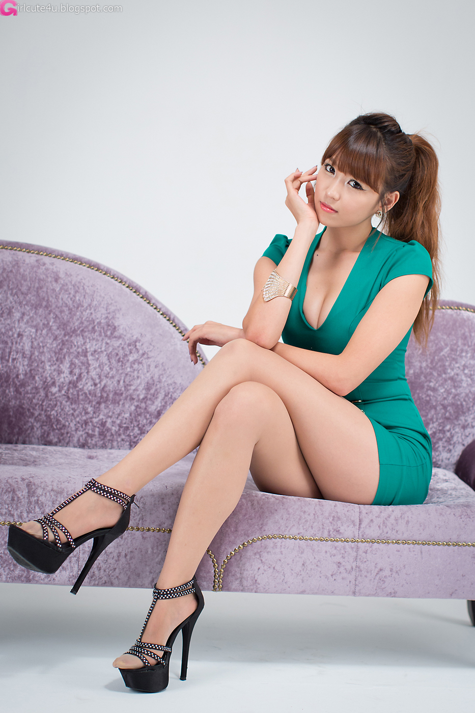 Cute Asian Girl Sexy Office Lady Lee Eun Hye
