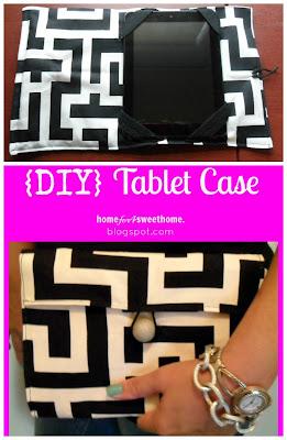 diy tablet sleeve