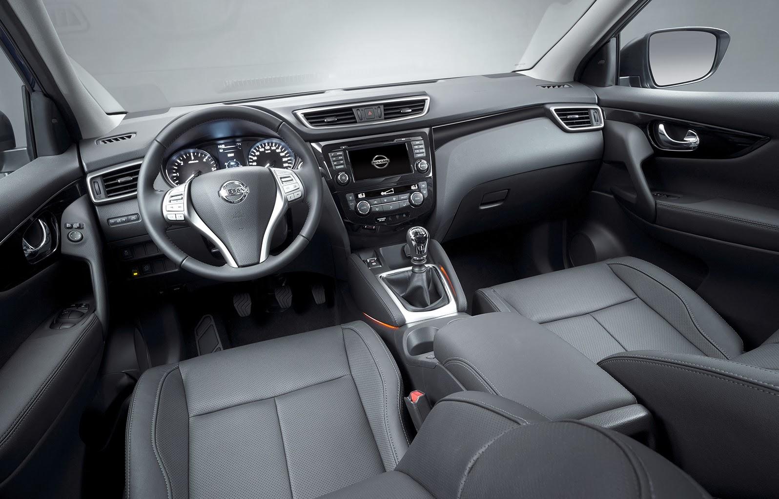 Novo nissan qasqai 2014 chega europa car blog br for Nissan qashqai 2014 interior