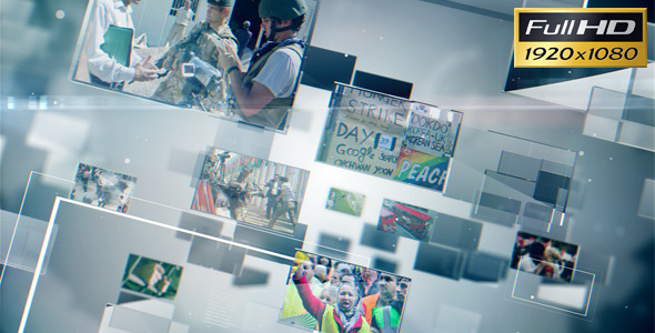 VideoHive The World Today