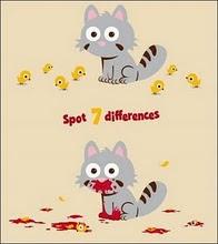 siete diferencias