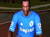 Camisa de Futebol para GTA San Andreas – Chelsea FC 12-13