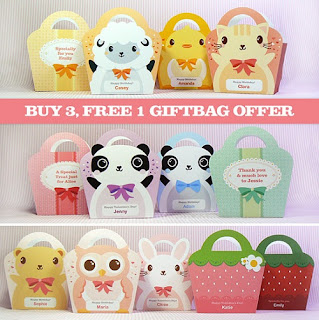 kawaii gift bag