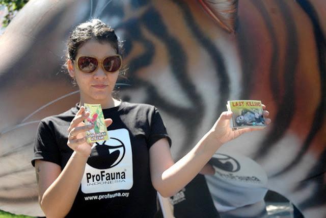 ProFauna : Stop Perdagangan Satwa liar