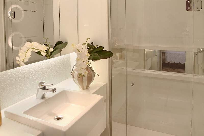Arte e Design Luxo simples # Como Organizar Um Banheiro Com Banheira
