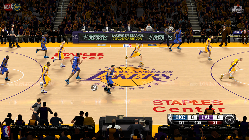 TNT Watermark Overlays Patch NBA 2K14