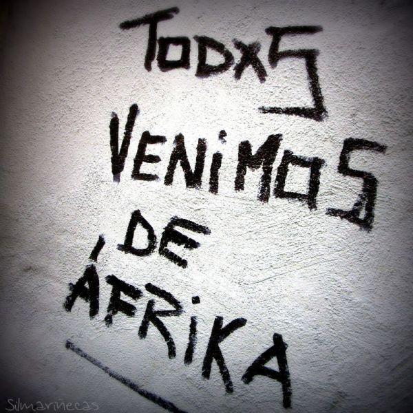 todxs venimos de áfrica
