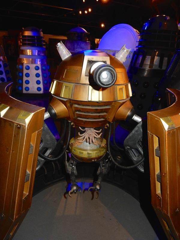 Dalek Emperor prop Doctor Who