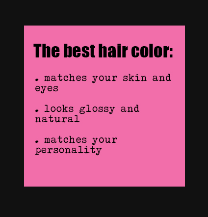 best hair color