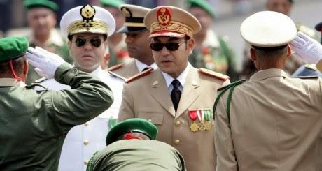 le roi mohammad 6 le chef supreme de l armée marocaine sa majesté mohammad 6 que Dieu le preserve e