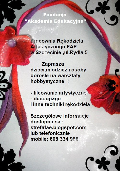Pracownia Rękodzieła Artystycznego FAE,  Szczecin -Prawobrzeże